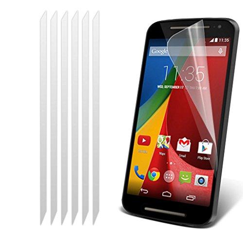 Motorola Moto G3 (3e Geneneration) 2015 cas Phone Holder Universal Support de voiture tableau de bord et pare-brise pour iPhone yi -Tronixs Screen Protectors 6 Pack)