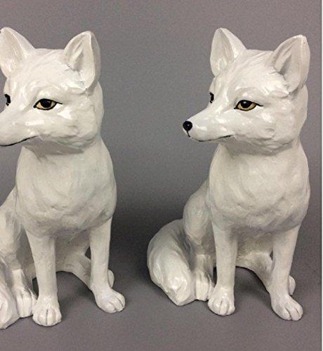 Geschenk Schmuck Kunsthandwerk benutzerdefinierte Tier Ornamente Großhandel Creative TV Kabinett Ornamente Fox (Winter-handschuhe Benutzerdefinierte)