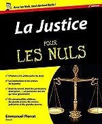 La Justice pour les Nuls, 2e de Emmanuel PIERRAT