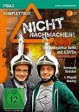 Nicht nachmachen! - Komplettbox / Die komplette Dokutainment-Serie mit Wigald Boning & Bernhard Hoëcker (Pidax Doku-Highlights) [4 DVDs]