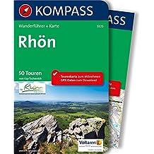 Rhön: Wanderführer mit Extra-Tourenkarte 1:50.000, 50 Touren, GPX-Daten zum Download (KOMPASS-Wanderführer, Band 5320)