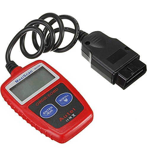 MS309OBD2EOBD Fault Code Reader escáner diagnóstico Scan Reset Tool