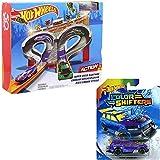 Hot Wheels Pack Super Speed Blastway Track and Car ( Random Car)