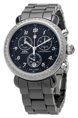 Michele MWW03N000003 - Reloj de pulsera Mujer, Cerámica, color Negro