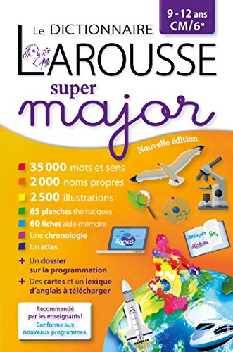Larousse dictionnaire Super major 9/12 ans par Collectif