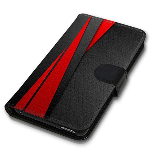 Wallet Book Style Flip Handy Tasche Case Schutz Hülle Schale Motiv Etui für Apple iPhone 4 / 4S - Variante UMV6 Design12 Design 8