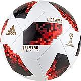 adidas W Cup KO Tglid Balón, Hombre, Blanco/Rojo/Negro, Talla 5