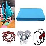 KIKIGOAL Yoga aérea, correa de yoga, yoga aérea sedas,Pilates (azul de cielo)