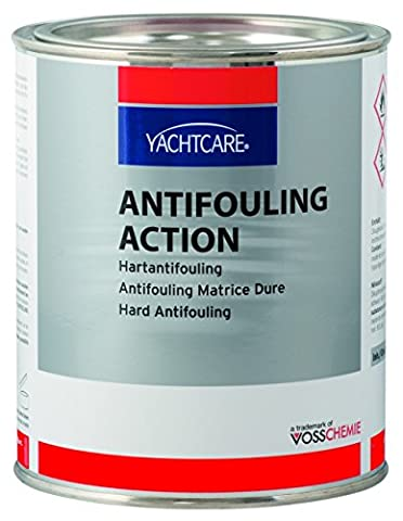 Yachtcare Action Hart-Antifouling - 750ml, Farbe:papyrusweiß;Größe:Standard