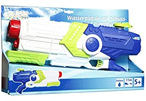VEDES Großhandel GmbH - Ware 76507058Splash & Fun Pistola de Agua con pumpfun, Multicolor