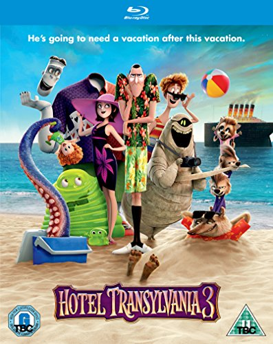 Hotel Transylvania 3 [Blu-ray] [2018] [Region Free]