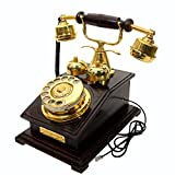 Maharaja Old Days Rotary Style Wooden Working Landline Telephone From Interio Crafts