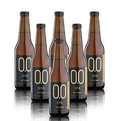 Idea Regalo - alternativa® - Birra Artigianale Analcolica - 0.0% vol (confezione 6 bottiglie 330 ml)