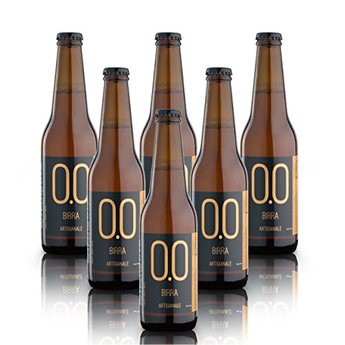 alternativa - Alkoholfreies, Handwerkliches Bier - 0.0% vol (Packung mit 6 Flaschen 330ml)