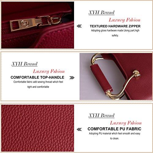 XYH-FA, Borsa a mano donna Red
