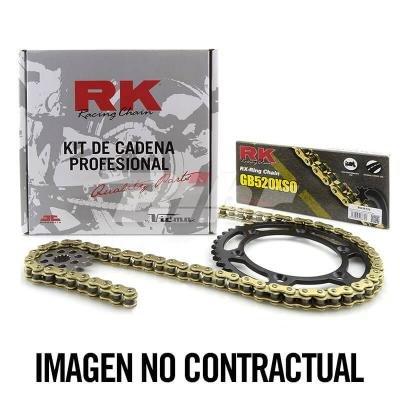 RK - KC100778/54 : Kit transmision plato piñon cadena RK 520XSO