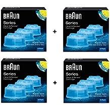Braun-Lote de 12 recargas para sistema de líquido limpiador Clean Renew   -CCR3 1e520d6fe3f6