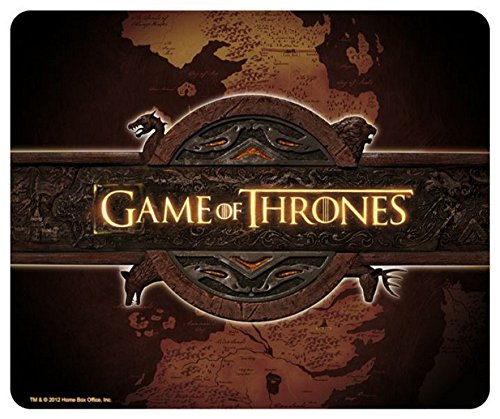 Game of Thrones – TV Serien Mousepad Mausmatte – Landkarte – 23 x 19 cm
