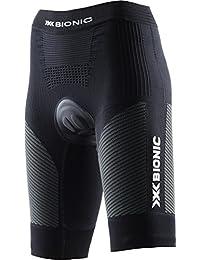 XS Nero//Antracite Pantaloni Unisex Adulto X-Bionic Biking The Trick OW Comfort
