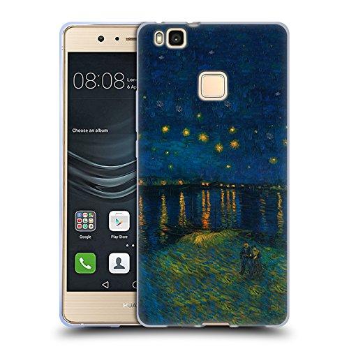 Offizielle Masters Collection Starlight Over The Rhone Bilder 2 Soft Gel Hülle für Huawei P9 Lite / G9 Lite