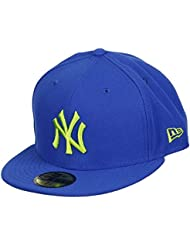 NEW YORK Yankees New Era–Gorra–Seasonal Contrast–Royal/lime green