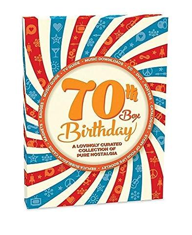 RetroCo 70th Birthday Retro Memorabilia Collection Gift Box - Spiral