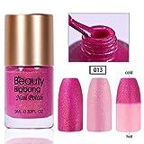 Beautybigbang 9ml Farbwechsel Nagellack Thermolack Thermo Nail Polish Effekt ohne UV Lampe 013