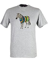 Paul Smith Men`s Zebra T-Shirt - Grey