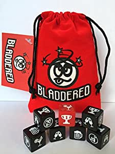 ABSOLUTE DICE 'BLADDERED' .. the Ultimate Drinking Game !!