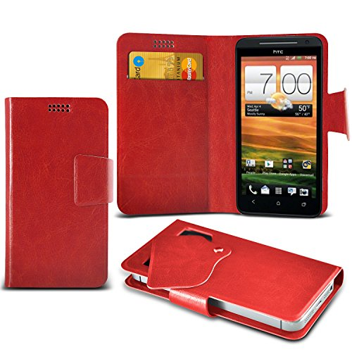 red-htc-evo-4g-lte-protective-mega-thin-faux-leather-suction-pad-wallet-case-cover-skin-with-credit-
