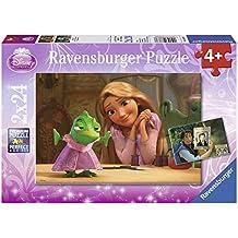 Ravensburger 08867 Disney - Puzzle (2 modelos, 24 piezas), diseño de película Enredados