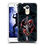 Head Case Designs Ufficiale Anne Stokes Coltello Dragoni Cover Morbida In Gel Per Huawei Honor 6A