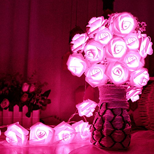 Vale® Rose Flower Light cordes -...