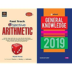 Fast Track Objective Arithmetic Latest Edition 2018-2019 Arihant