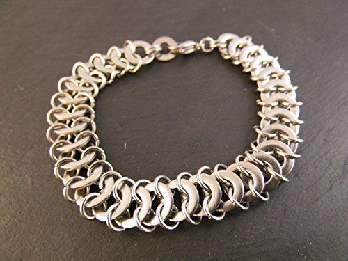 Armband Edelstahl Chainmail Chainmaille Kettenhemd DANI