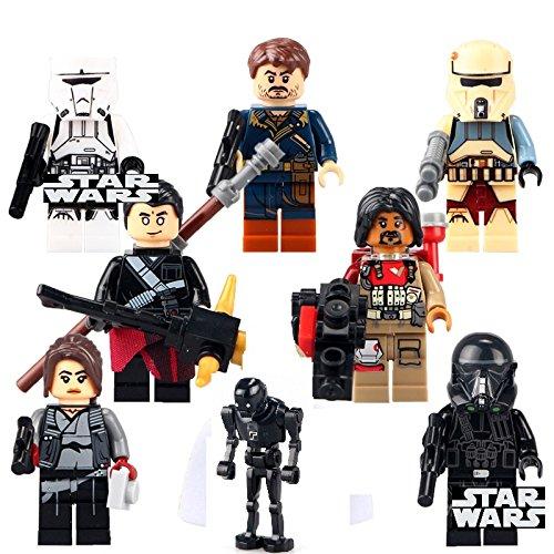 star-wars-minifigura-rogue-un-8pcs-minifigure-cassian-andor-jyn-erso-imperial-hovertank-trooper-impe