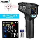 Infrared Thermometer Temperature Gun MESTEK Non-Contact Laser Digital Thermometer with Color LCD Screen