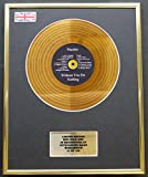 Everythingcollectible Placebo/Mini Gold Disc Display/ÉDITION LIMITÉE/COA / Without You I'm Nothing
