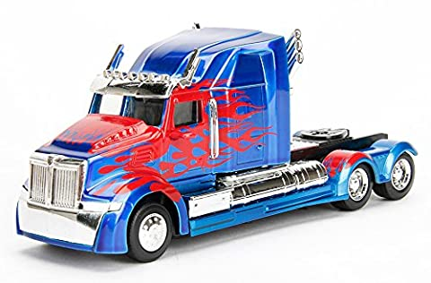 "Western Star 5700 XE Phantom [Jada 98398], Optimus Prime, ""Transformers: The Last Knight"", environ 1:60 Die Cast"