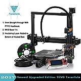 TEVO Tarantula I3 Kit di stampante 3D di estrusione in alluminio + selezione multifunzionale + stampa 3D 2 Rolls Filament e 8GB LCD come regalo (Auto e Flex)