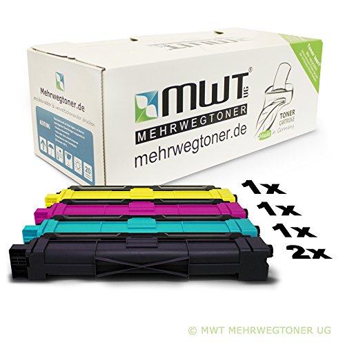 5er-set-mehrwegtoner-compatible-cartouches-xxl-pour-brother-mfc-9130-cw-mfc-9140-cdn-mfc-9330-cdw-mf