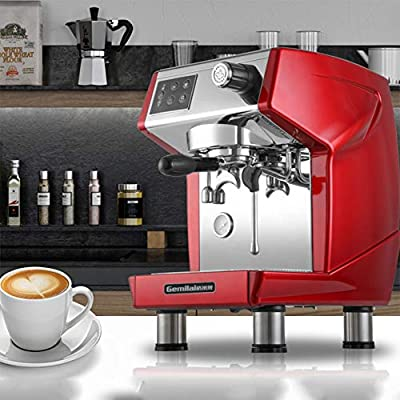 OMLTER Professional Commercial Coffee Machine, Espresso Machine with Manual Control Coffee Maker Steam System with Double Boiler Home Automatic Offee Machine by TIANMEI