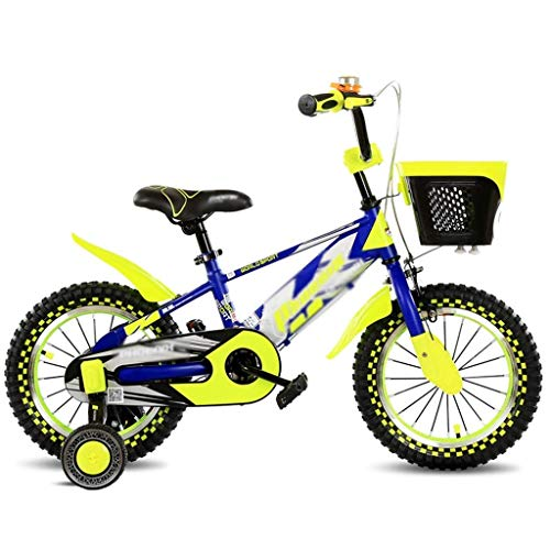 Xiaotian Kinder Outdoor Radfahren Fahrräder Freizeit SUV Indoor Kinder Heimtrainer Schönes Fahrrad Sehr Cool Bike-18 Zoll,Yellow,18inch