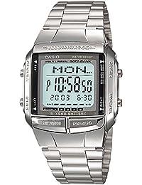 Casio DB3601A - Reloj Unisex metálico Plata
