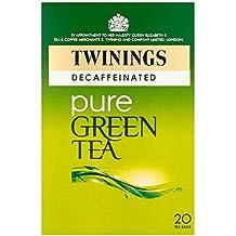 Twinings té verde descafeinado 20 por paquete