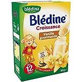 Blédina blédine croissance céréales saveur vanille gourmande 500g dès 12 mois - ( Prix Unitaire ) - Envoi Rapide...