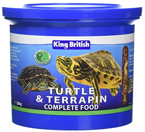 King British Turtle and Terrapin Food 200 g Test