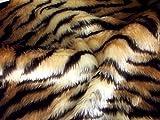 Animal Fun Kunstfell Stoff Material–Tiger