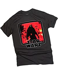 Star Wars Ep VII: The Force Awakens -- Kylo Ren Attack Adult T-Shirt