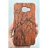 Holzsammlung® Coque Samsung Galaxy A5 (2016) en Bois Véritable - Rosewood Tree - Fabriqué à la main en Bois / Bambou Naturel Housse / Étui pour votre Smartphone